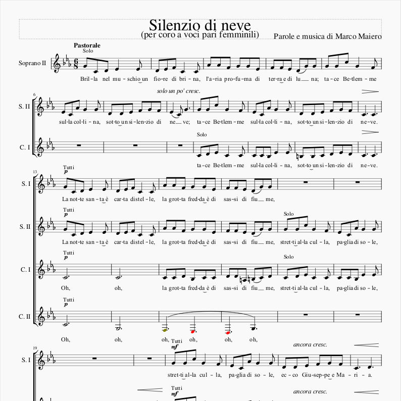 Silenzio di neve (Marco Maiero)