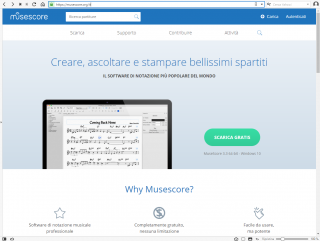 Spartiticorali MuseScore download globale