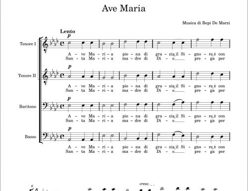 Ave Maria (Bepi De Marzi)